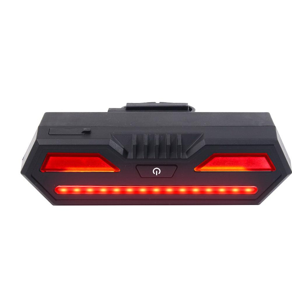USB Rechargeable LED Cycling Rear Light Lamp 85 Lumen Mount Red Lantern For Bicycle Light Accessories giyo laser bike taillight usb rechargeable led cycling rear light lamp 85 lumen mount red lantern for bicycle light accessories