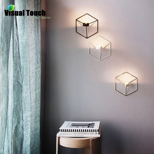 Metal Nordic Style 3D Geometric Candle Holder