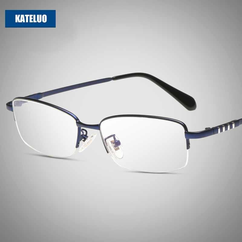 KATELUO Brand Computer Goggles Anti Fatigue Radiation-resistant Reading Spectacles Glasses Frame Optical Eyeglasses oculos 8801