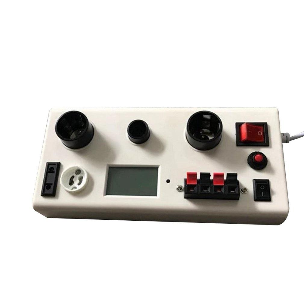 Professional AC85~265V LED Light Lamp Current Voltage Power Tester E27/E14/GU10 Socket Checkerboard Application SaleProfessional AC85~265V LED Light Lamp Current Voltage Power Tester E27/E14/GU10 Socket Checkerboard Application Sale