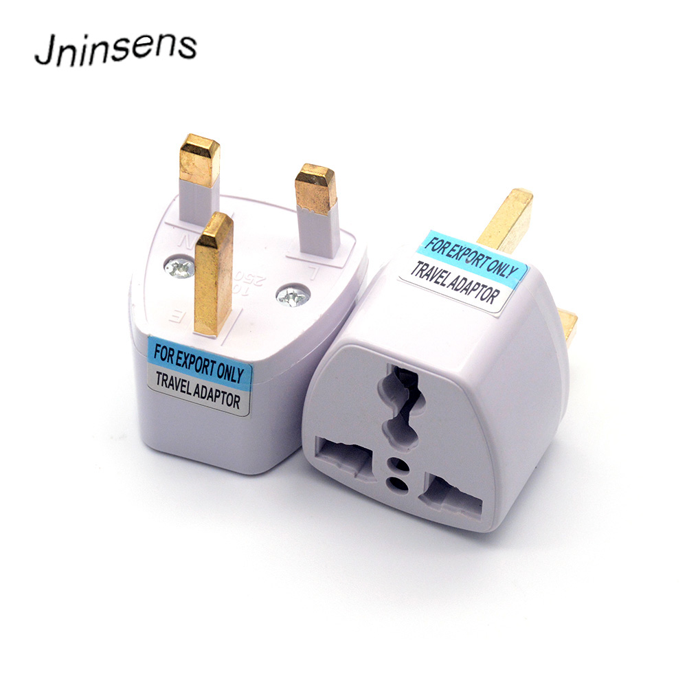 Wholesale Universal US EU AU Converter to UK AC Travel Power Plug Charger Adapter Connector UK Plug For Travel Home Use