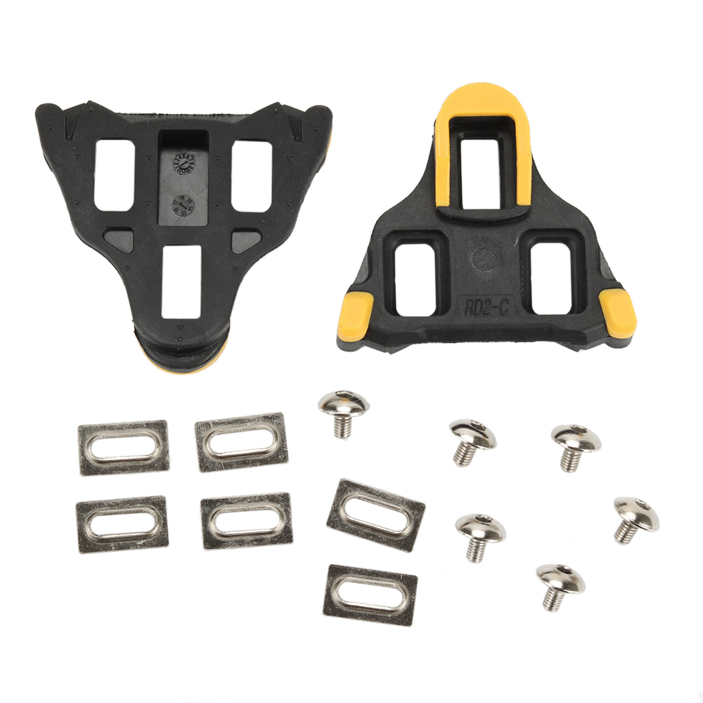 цены Bike Cleats Compatible 6 Degree or Fixed Float Self-locking Cycling Pedal Cleat For Shimano SM-SH SPD-SL Road Cleats