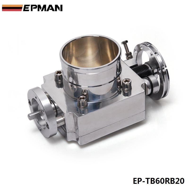 FOR Nissan RB20 65MM Aluminum Turbo Throttle Body High Performance Aluminum Jdm EP TB60RB20