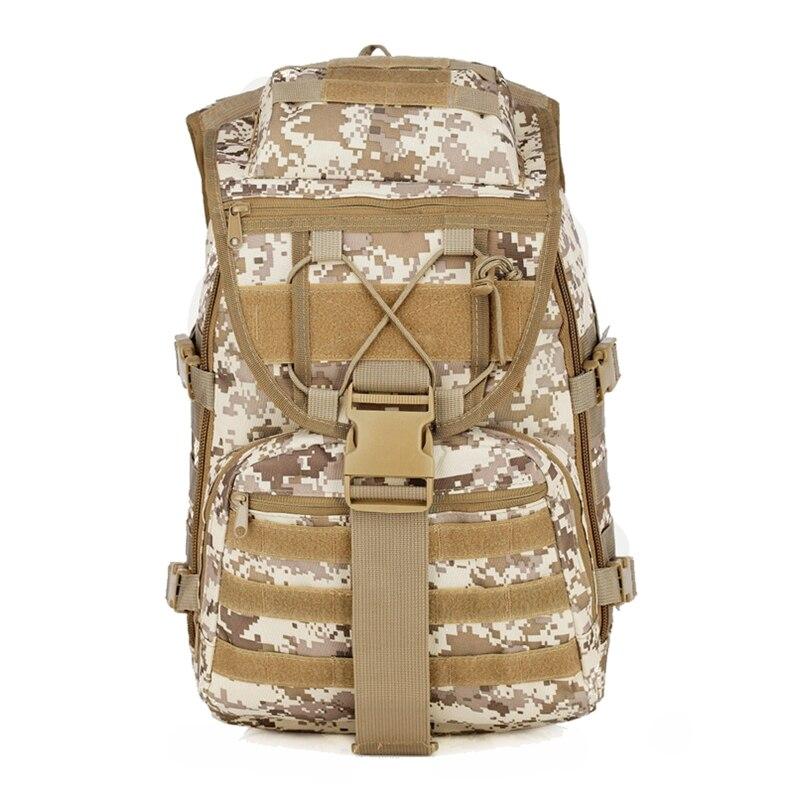Prix pour X7 Tactique Sac À Dos Grand Assaut de L'armée Pack Étanche Molle Extérieure 40L Camping Randonnée Escalade Sac À Dos