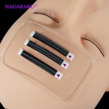 NAGARAKU Silicone Eyelash Extension Stand Pallet Pad Lash Tray Holder Tool Clear lash Holder