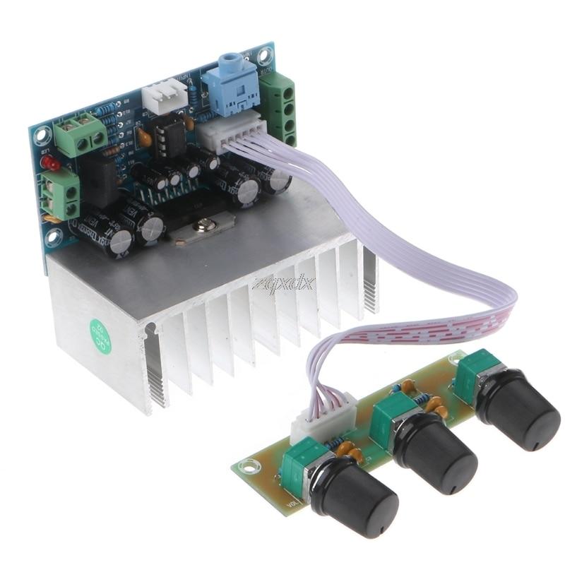 TDA7377 2,1 canales de sonido tablero amplificador 20 W * 2 + 30 W Subwoofer tablero amplificador Z07 de la nave de la gota
