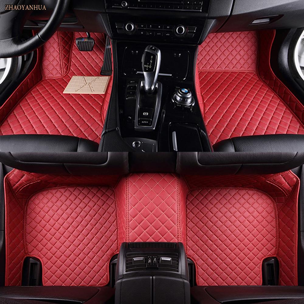 ZHAOYANHUA Voiture tapis de sol pour Chevrolet Camaro all weather 5D voiture-style étanche tapis doublures (2010-