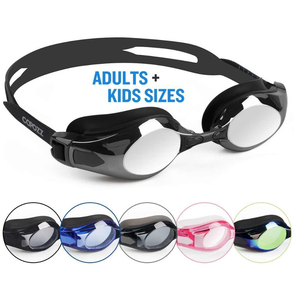 9ebf42b887f ... Copozz Myopia Swimming Goggles Silicone Cap Ear Plug Suit Waterproof Swim  Glasses Anti-fog Nearsighted ...