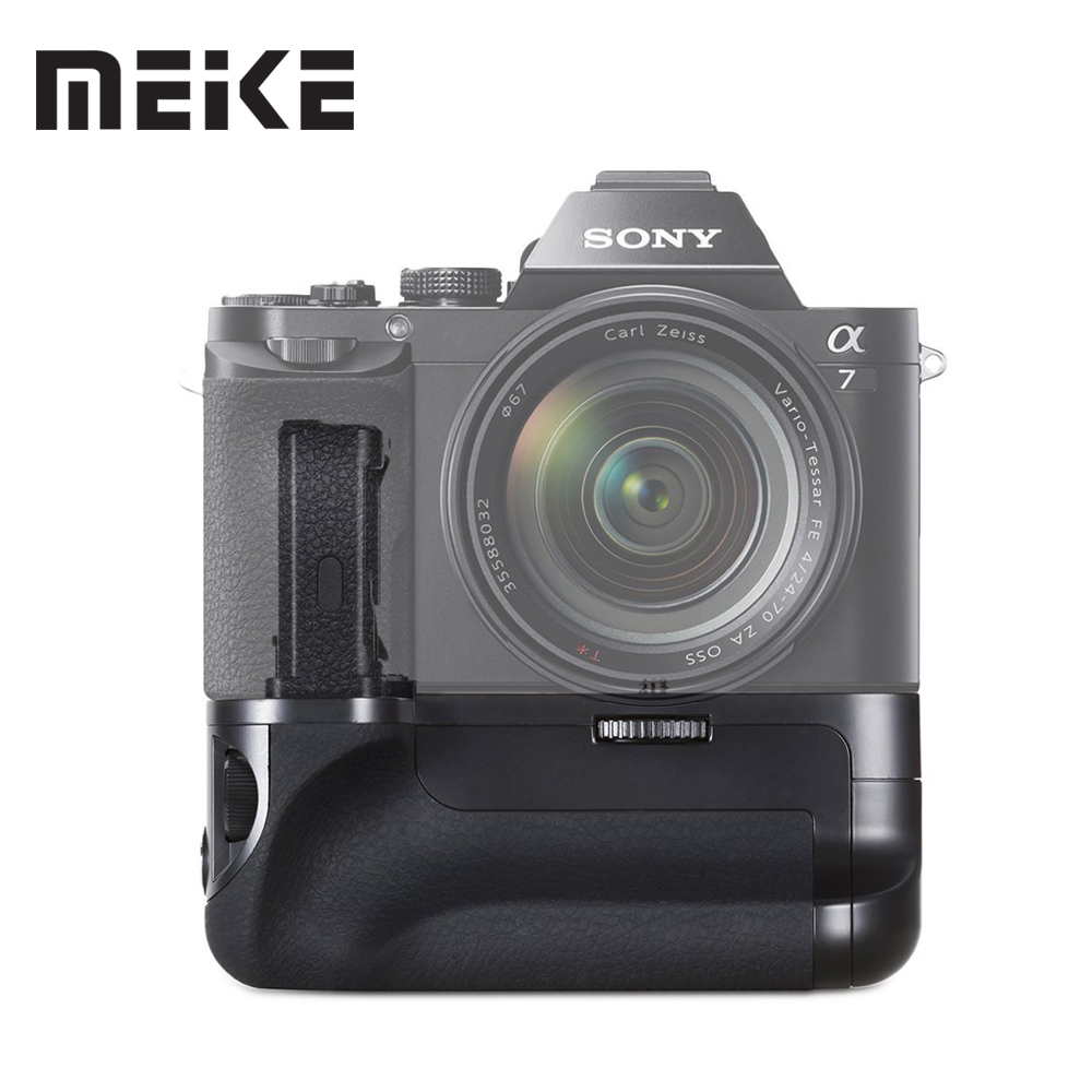 Meike MK-A7 Vertical Battery Grip Handle Holder for Sony Alpha A7 A7r A7s as VG-C1EM micro single camera for NP-FW50 Battery Meike MK-A7 Vertical Battery Grip Handle Holder for Sony Alpha A7 A7r A7s as VG-C1EM micro single camera for NP-FW50 Battery