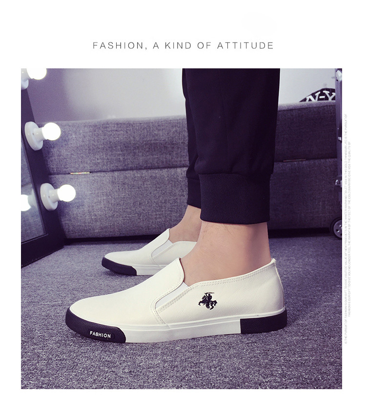 HTB1n7eFngMPMeJjy1Xdq6ysrXXaO 39-45 New 2019 Fashion Mens Shoes Outdoor Male loafers Walking Brand Sneakers Men Casual Shoes Leather Shoes For Men Flats