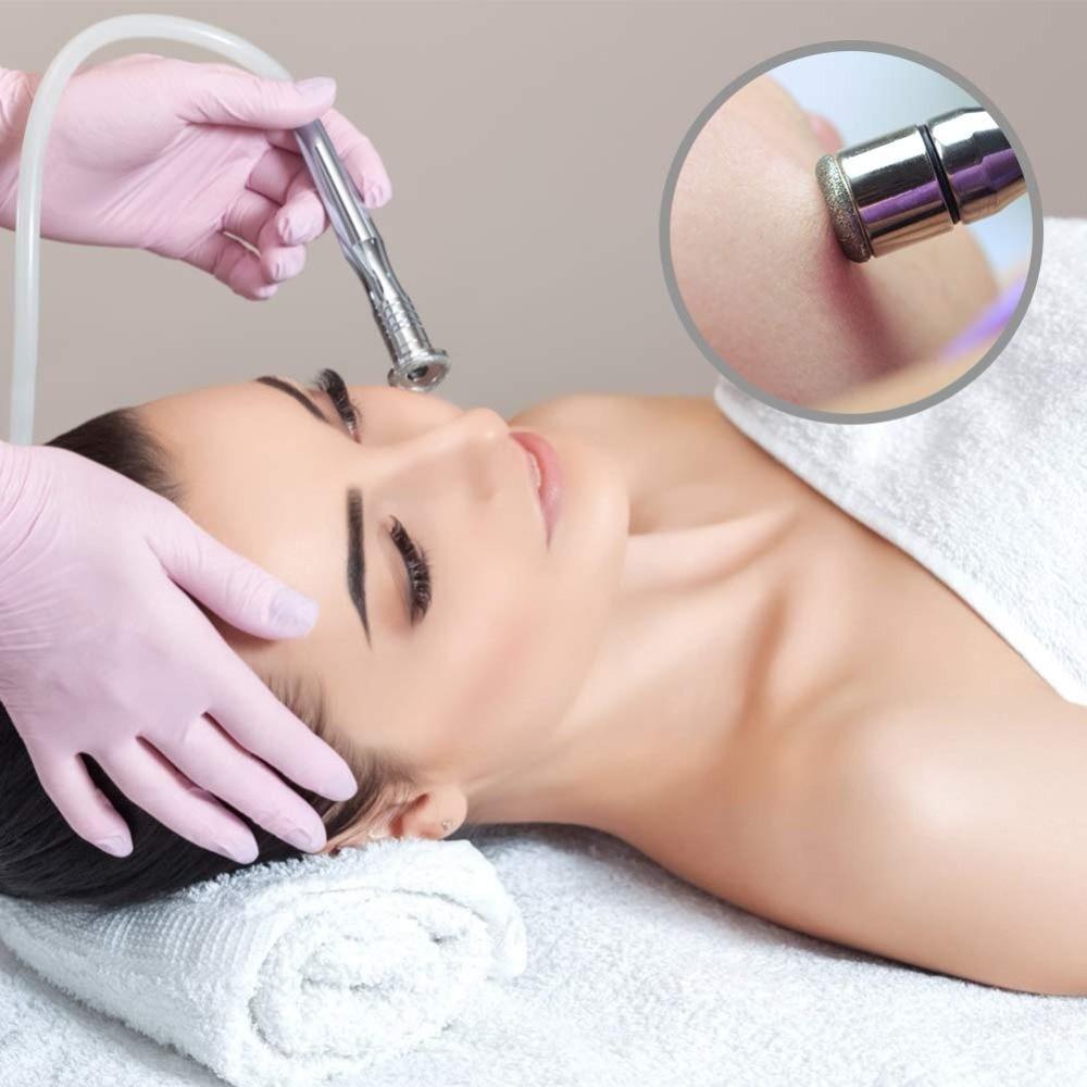 3 IN 1 Diamant Mikrodermabrasion Dermabrasion Maschine Haut Verjüngung Anti-Falten Sommersprossen Entfernung Peeling Schönheit Maschine