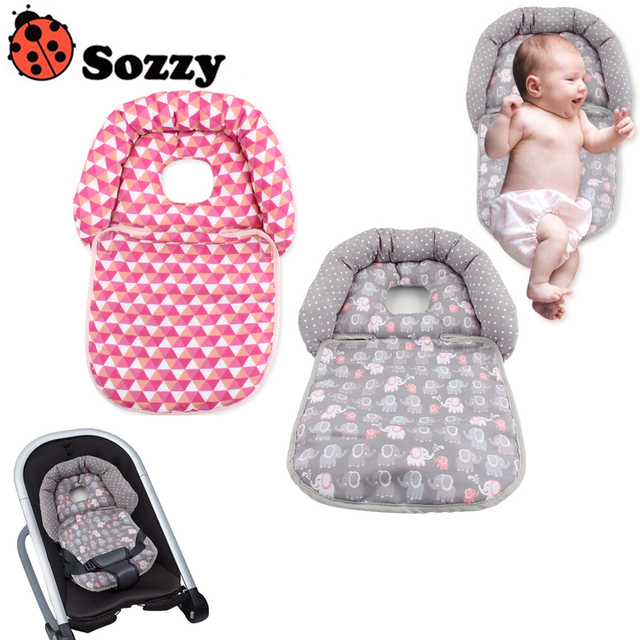 Sozzy Baby Car Seat Protection Soft Cosy Stroller Cushion Liner Pad Head Support Rest Matress Pillow