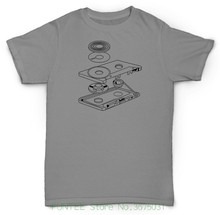 Cassette Tape parts & mechanism t-shirt / 4 Colors