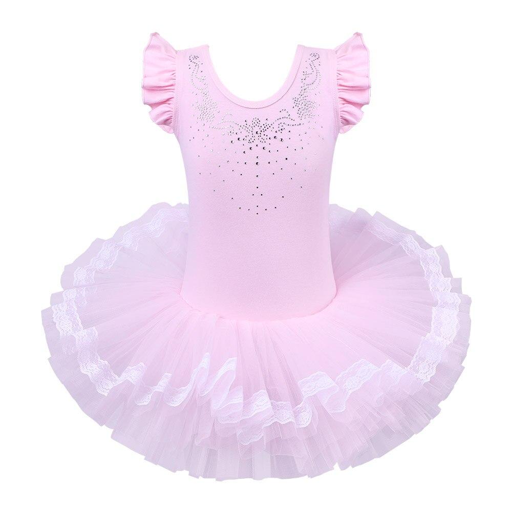 736f23c294d09 BAOHULU التجزئة جديد جميل الفتيات الاطفال الدانتيل الباليه اللباس توتو  ملابس رقص سكيت توتو ملابس تنكرية للحفلات الباليه الرقص ثياب هدايا
