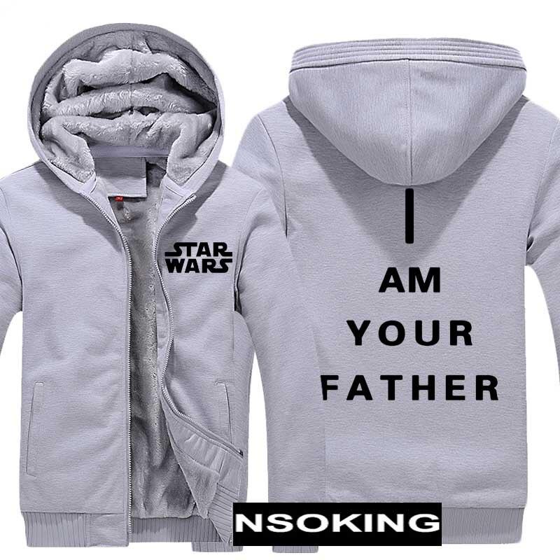 Vestes d'hiver et manteau Star Wars sweat à capuche Sith/I am votre père épaissir chaud hommes Sweatshirts 6 style - 4