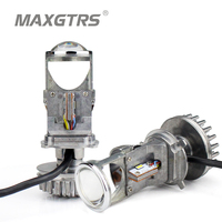 1 Pair 70 W H4 LHD Araba LED Ampuller HID Ampul Işık Lamba Hi/Lo Işın Far 1.5