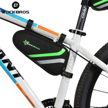 ROCKBROS Bike Bag Triangle Bicycle Bag MTB Road Repair Tool Bag Cycling Rear Seat Back Tube Bag Frame Saddle Bag Bolsa Bicicleta