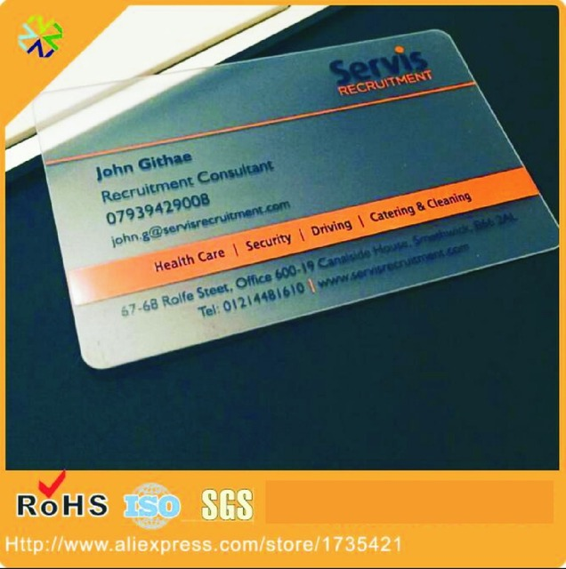 2017 hot sale 4cmyk customer printing frosted plastic transparent 2017 hot sale 4cmyk customer printing frosted plastic transparent business card colourmoves