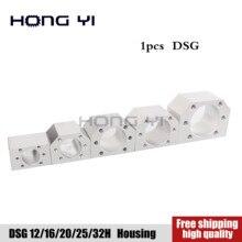 Кронштейн держатель алюминиевый шар корпус шариковинтовой передачи для DSG16H/12/20/25/32 мм шариковый винт SFU1605 SFU1204 SFU2005 SFU3205 ЧПУ части