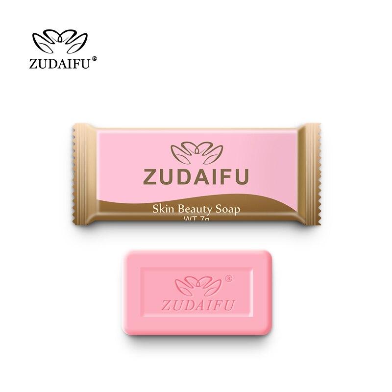 1pc Zudaifu Sulfur Soap Trial Pack Skin Antibacterial Treatment Acne Psoriasis Seborrhea Eczema Anti Fungus Bath Beauty Soap