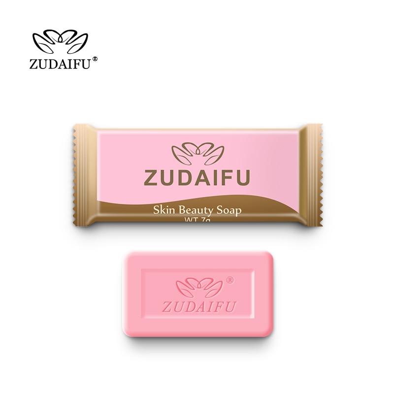 3PCS Zudaifu Sulfur Soap Trial Pack Skin Antibacterial Treatment Acne Psoriasis Seborrhea Eczema Anti Fungus Bath Beauty Soap