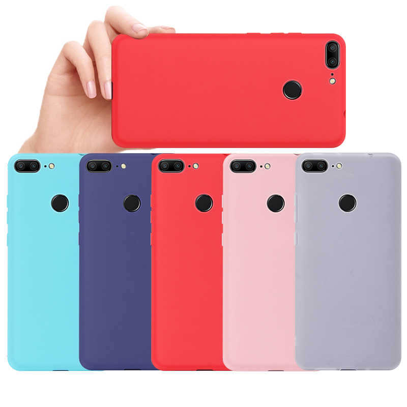 Candy Soft Phone Case For Huawei Honor 8X Play 10 P20 Pro Mate 20 Lite P10 P30 Y9 2019 Nova 4 3i Silicone Back Cover Case Coque