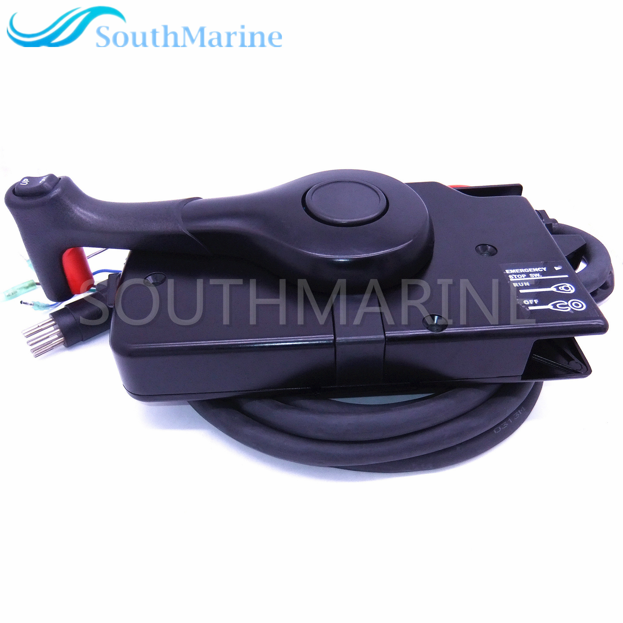 881170A15 Boat Motor Side Mount Remote Control Box With 8 Pin for Mercury Outboard Engine PT