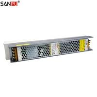 SANPU Dimmable LED Driver 24V 150W 6A Triac & 0 10V Dimming 2in1 Power Supply 24VDC 220V 230V AC/DC 24Volt Lighting Transformer
