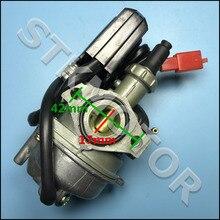 17 мм Carb Карбюратор для Honda 2 тактный 50cc Dio 50 SP ZX34 35 SYM KYMCO, скутер