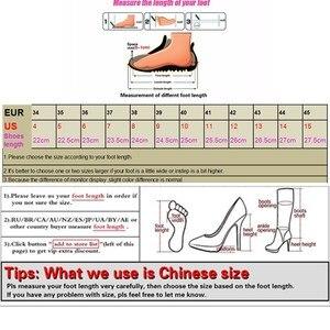 Image 5 - Pompen Vrouw Muilezels Schoenen Klassieke Merk Vrouwen Hoge Hakken 2019 Zomer Koreaanse Mode Pu Leer Werk Dames Schoen Chaussure Femme