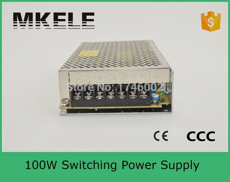 CE approved over-load protection high quality Single Output Switching power supply 100W 24V 4.5A ac to dc  converter  цены