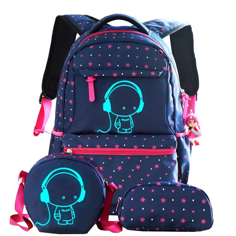 Kinder Schule Taschen Jungen Mädchen Kinder Rucksack Grundschule Rucksack Orthopädische Schul Rucksack Kid Bookbag Mochila Infantil Heller Glanz Schultaschen Gepäck & Taschen