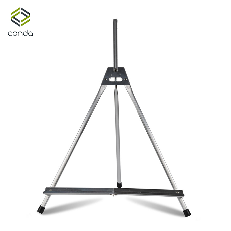 Conda Easel For Painting Foldable Table Easel Portable Display Aluminum Mini Easels Stand Sketch Artist Display With Handle free shipping 600x 4 3 lcd display microscope zoom portable led video microscope with aluminum stand for pcb phone repair bga