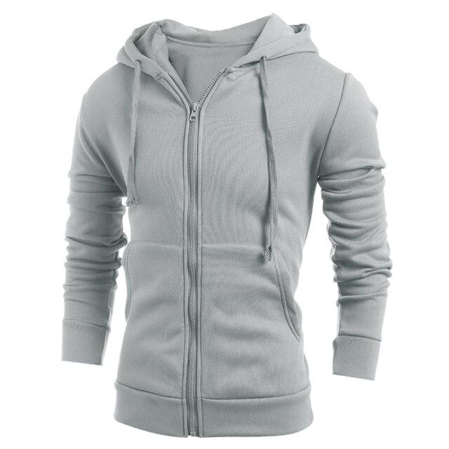 Fashion Hoodies Winter Autumn Hoodies Men Zipper Sportswear Sweatshirt Pullover Men's Tracksuits Moleton Suit Hoody