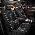 Asiento de coche de Lino cubre especial Para Audi A6L Q3 Q5 Q7 S4 A5 A1 A2 A3 A4 B6 B7 b8 A6 c5 c6 A7 A8 accesorios car styling
