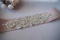 Crystal Bridal Sash Applique ZP040