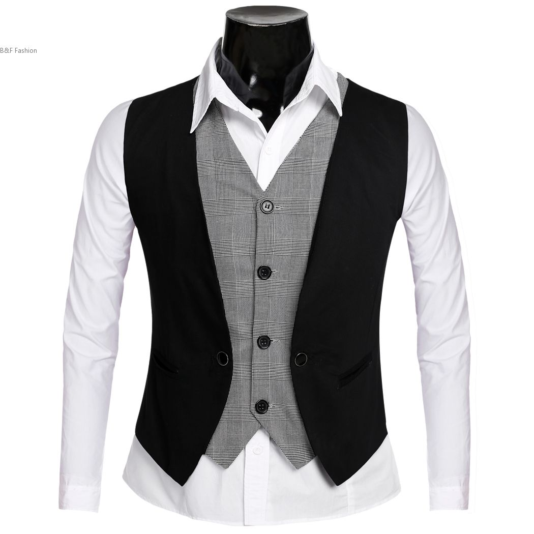 Popular Male Vest Fashion-Buy Cheap Male Vest Fashion lots from ...