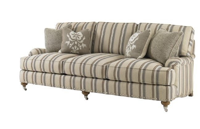 Living Room Nordic Style American Country Antique Solid Wood Fabric Sofa Modern 3 Seater 8275 In Sofas From Furniture On