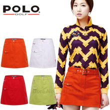 POLO Golf Clothes Women Skirt Culotte Plus High Quality Pencil Skirt Short Summer Sport Lady Anti-exposure Divided A-line Skirts