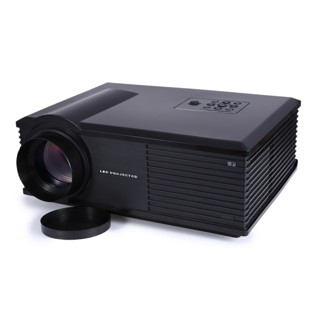 Led Lcd Projector X7 Home Cinema Theater Multimedia Led: PH580 LED Projector 3D Multimedia LCD Projector Full HD