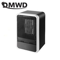 DMWD ไฟฟ้าพัดลม Mini ฤดูหนาวมืออุ่น