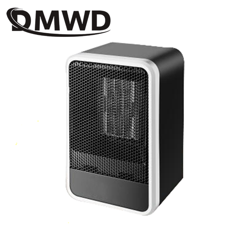 DMWD Electric Heater Fan Mini Winter Hand Warmer PTC Ceramic Quick Heating Warm Stove Radiator Office Desktop Hot Air Blower EU dmwd mini portable fan heater hand electric air warmer heating winter keep warm desk fan for office home 50w overheat protection