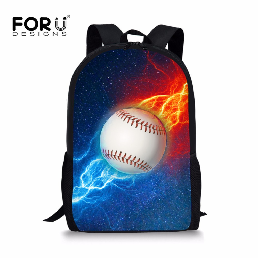 Lights & Lighting Forudesigns Children School Bags Foot-ball Pattern Primary School Backpacks Schoolbag For Teenager Student Book Bag Boys Satchel Strengthening Waist And Sinews
