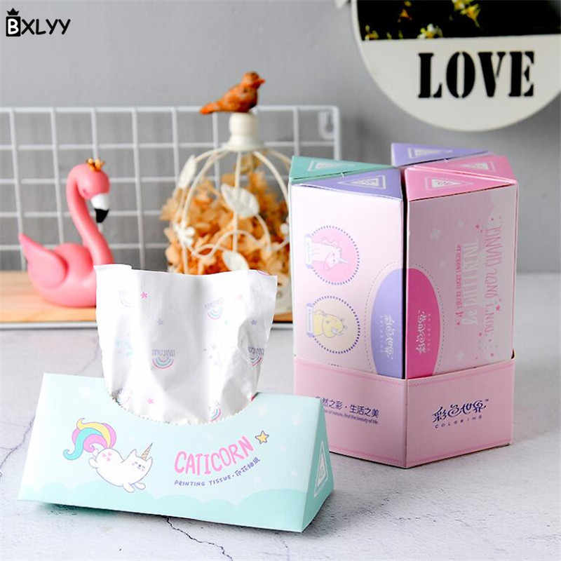 BXLYY Hot Unicorn Party Disposable Paper Towel Printing Three-layer Paper Birthday Wedding Decor Baby Shower Party Supplies.7z