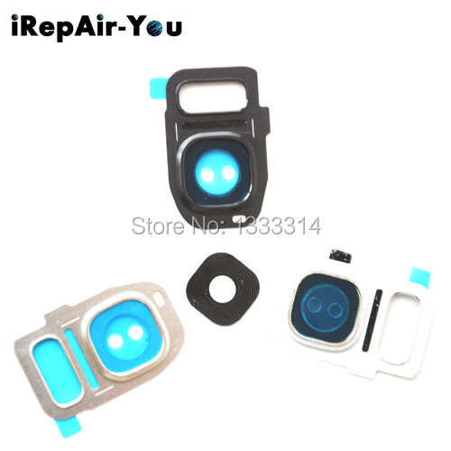 iRepair-You Rear Camera Cam Lens Lid Back Cover Flash For Samsung Galaxy S7/S7 Edge 10PCS