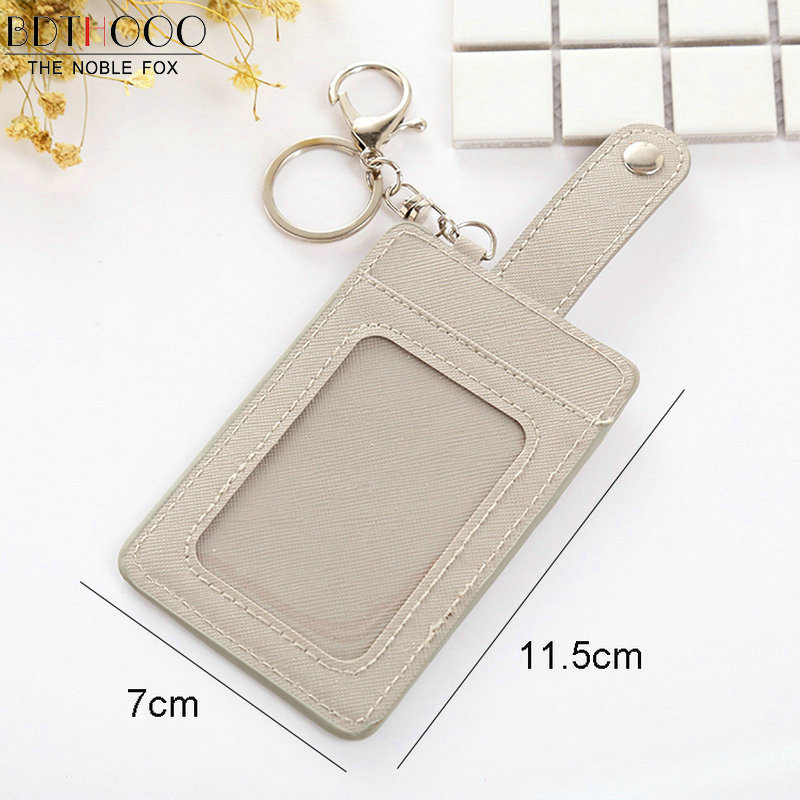 Fashion Womens Slim Mini Leather Credit ID Card Holder Wallet Purse Bag Pouch Book Passport Cover Case Car Key Package