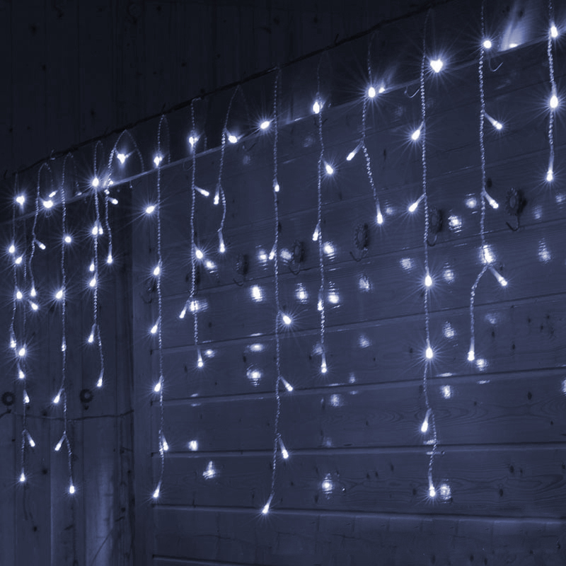 SVELTA Garland Fairy LED Curtain Festoon tuled 10M 320 led - Puhkusevalgustus