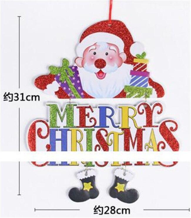 actionbabei new christmas card christmas tree decoration pendant