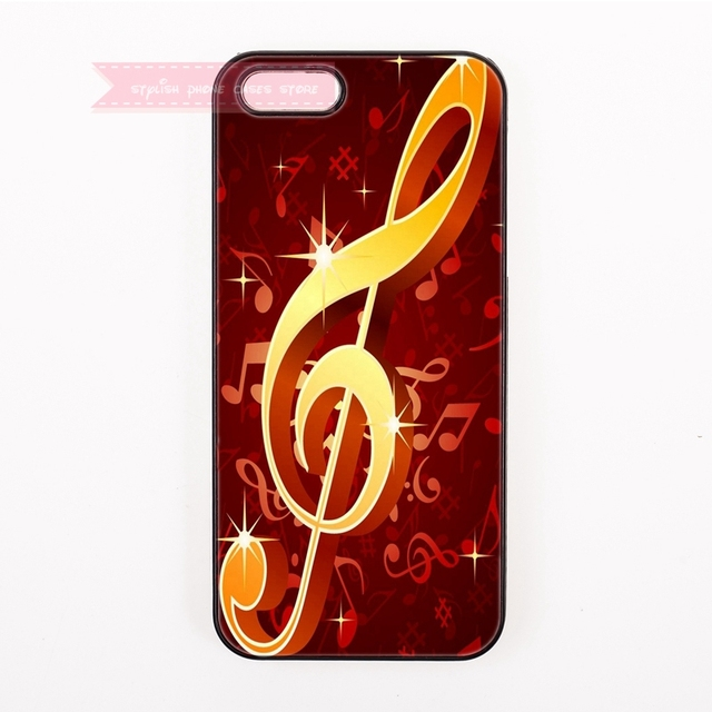 Beautiful Music Note Symbol Stylish Hard Back Cover Phone Case For