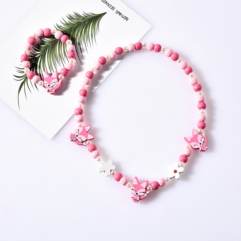 Children Beads Toys Necklace+Bracelet Handmade Princess Girl Jewelry Making Toys Children Gift Classic Toys Crafts For Kids